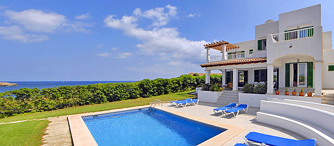 Villa in Cala D'Or am Meer