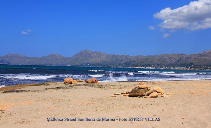 Mallorca Strand Son Serra de Marina, Foto ESPRIT VILLAS