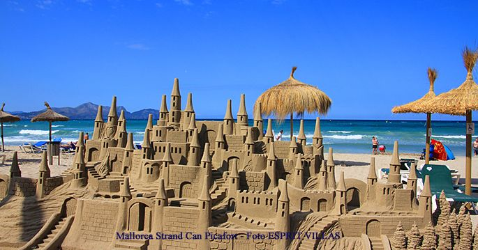 Mallorca Strand Can Picafort, Foto ESPRIT VILLAS