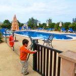 Barrierefreies Ferienhaus MA7420 kindergesicherter Poolbereich