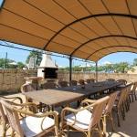 Ferienhaus Can Picafort MA8300 überdachte Terrasse