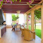 Ferienhaus Mallorca 6630 Grillbereich