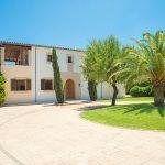 Ferienhaus Mallorca - Auffahrt zum Haus