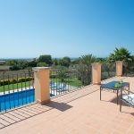 Ferienhaus Mallorca - Dachterrasse mit Fernblick