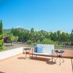 Ferienhaus Mallorca - Gartenmöbel auf der Terrasse