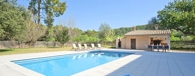 Ferienhaus Mallorca MA6060 - Sonnenliegen am Pool