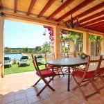 Ferienhaus Mallorca MA6630 Esstisch auf der Terrasse
