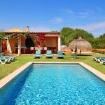 Ferienhaus Mallorca MA6630 Liegen um den Pool