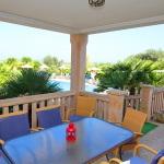 Ferienhaus Mallorca MA7420 überdachte Terrasse