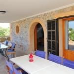 Ferienhaus Mallorca MA7420 überdachte Terrasse (2)