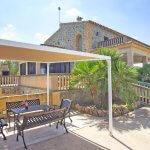 Ferienhaus Mallorca MA7420 überdachte Terrasse am Pool