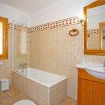 Ferienhaus Mallorca MA7420 Badezimmer mit Wanne