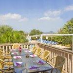 Ferienhaus Mallorca MA7420 Esstisch auf der Terrasse