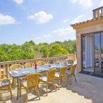 Ferienhaus Mallorca MA7420 Gartenmöbel auf der Terrasse