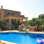 Ferienhaus Mallorca MA7420 Pool mit Liegen
