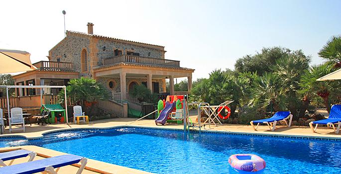 Barrierefreies mallorca ferienhaus picafort 7420 mit pool for Mallorca ferienhaus mieten