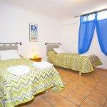 Ferienhaus Mallorca MA7420 Schlafraum mit 2 Betten