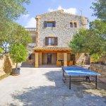 Ferienhaus Mallorca MA7420 Terrasse mit Tischtennisplatte