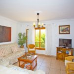 Ferienhaus Mallorca MA7420 Wohnbereich mit TV