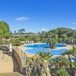 Ferienhaus Mallorca MA8300 Blick auf die Poollandschaft