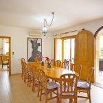 Ferienhaus Mallorca MA8300 Esszimmer an der Küche