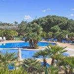 Ferienhaus Mallorca MA8300 Palmen um den Pool