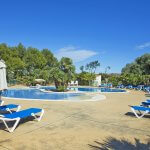 Ferienhaus Mallorca MA8300 Sonnenliegen am Pool