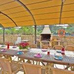 Ferienhaus Mallorca MA8300 Terrasse mit Esstisch