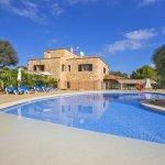 Ferienhaus Mallorca MA8300 flacher Einstieg in den Pool