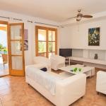 Ferienhaus Mallorca - Wohnbereich