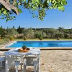 Ferienhaus Pollensa 6045 -Gartentisch am Pool
