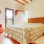 Ferienhaus Pollensa 8385 Doppelbett im Schlafraum