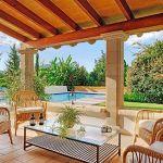 Ferienhaus Pollensa 8385 Gartenmöbel auf der Terrasse
