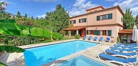 Mallorca Nordküste – Komfort-Ferienhaus Pollensa 8385 mit Pool und Kinderpool für 12 Personen, Strand 4,2. Wechseltag Samstag