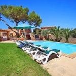 Finca Cas Concos MA6775 Garten mit Pool