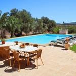 Finca Cas Concos MA6775 Gartenmöbel am Pool