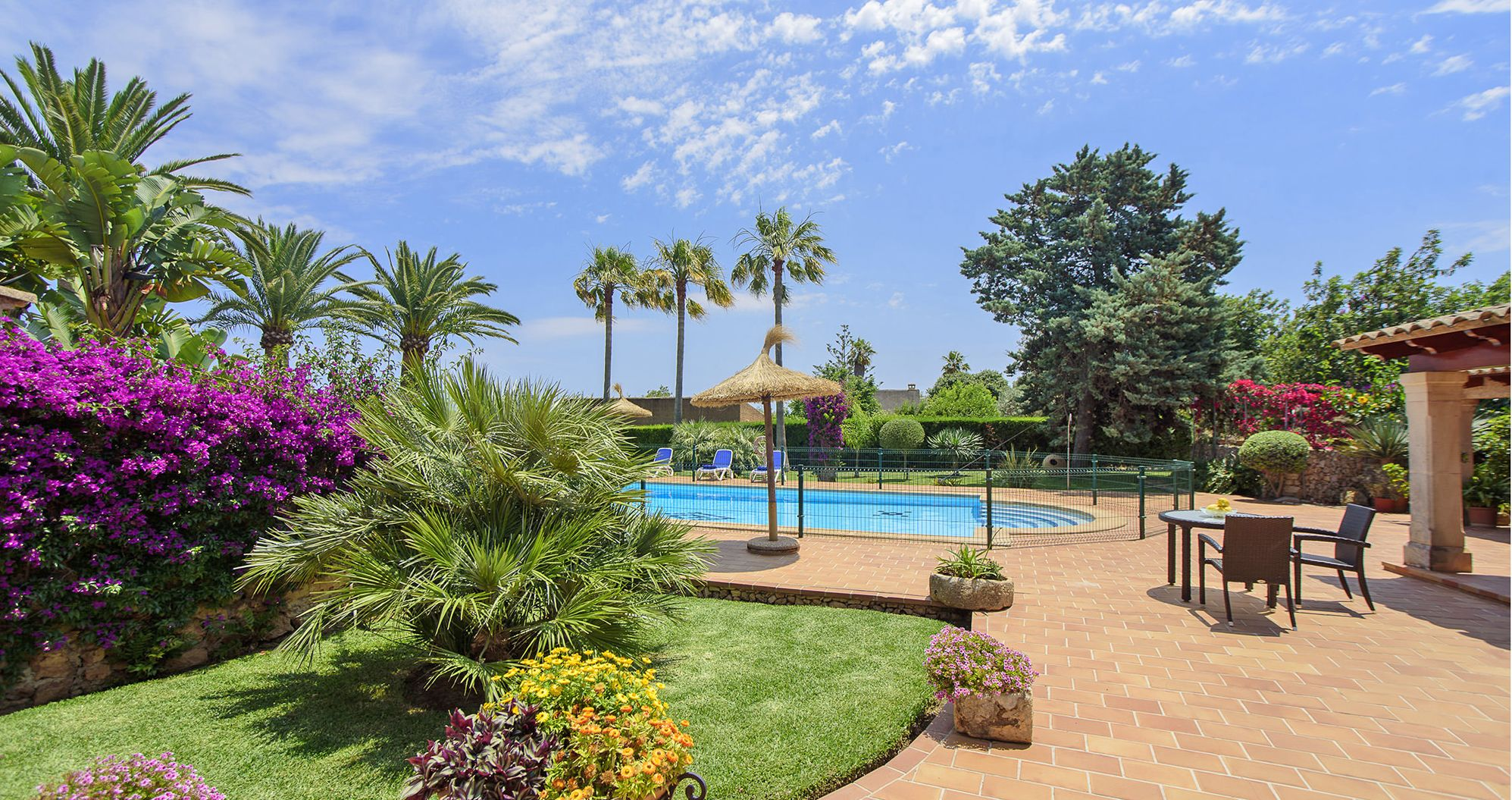 Finca Mallorca MA5770 Swimmingpool im Garten