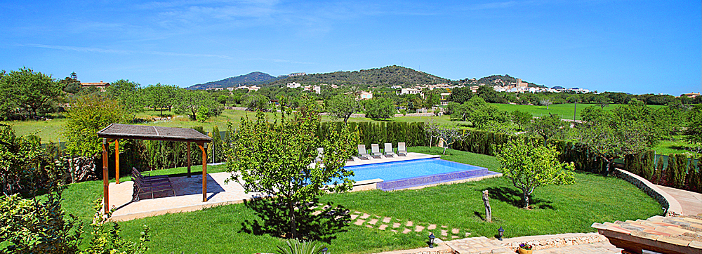 Luxus finca mallorca calonge 6652 mit pool f r 12 personen for Garten pool 4m durchmesser