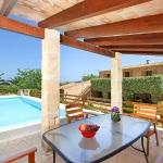 Finca Mallorca MA6860 überdachte Terrasse