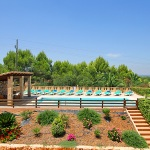 Finca Mallorca MA6860 Garten mit Blumen