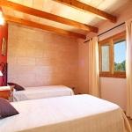 Finca Mallorca MA6860 Schlafraum mit 2 Betten