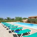 Finca Mallorca MA6860 Sonnenliegen um den Pool