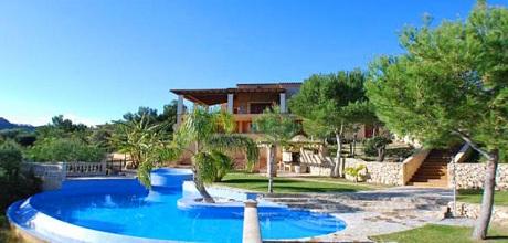 Mallorca Südostküste – Deluxe-Villa Porto Cristo MA6651 mit Pool, Whirlpool und Meerblick mieten. Wechseltag Samstag
