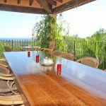 Villa Mallorca MA6651 Balkon mit Esstisch