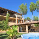Villa Mallorca MA6651 Hausansicht vom Pool