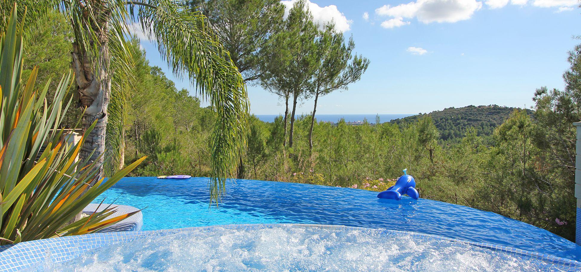 Villa Mallorca MA6651 Meerblick vom Whirlpool