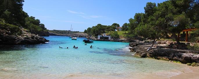 Cala Mitjana auf Mallorca