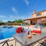 Casa Mallorca MA5208 Esstisch am Pool