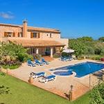 Casa Mallorca MA5208 Garten mit Pool