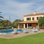 Ferienhaus Cala d Or MA5730 Poolarea mit Liegen